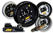 AEM 52 mm Universal FLEX FUEL Wideband FAILSAFE Gauge & Flex Sensore del combustibile #30-4911
