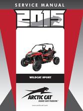 2015 Arctic Cat Wildcat Sport / Sport XT / Sport Limited service manual on CD