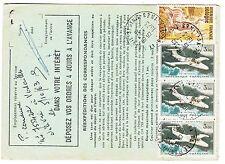 FRANCE  TIMBRE  ORDRE DE REEXPEDITION MAUREPAS POUR LES ESSARTS LE ROI 1973
