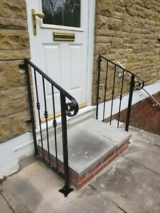 wrought iron handrail very decorative postage now inc in price