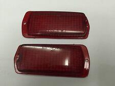 DATSUN 120Y B210 510 240Z 260Z 280Z Side Marker Lights LENS RED 2 PCS