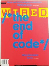 Wired June 2016 The End of Code What That Means For Us Computer FREE SHIPPING sb