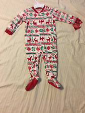 Jammies for your Families: Unisex Infant 1-Piece Long Sleeve Pajamas w/Feet: 18M