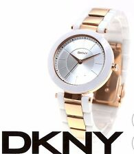 NIB DKNY Ceramic Watch Womens STANHOPE Stanhope NY2290