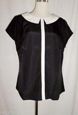 Damenblusen, - tops & -shirts mit klassischem Kragen aus Polyester in Größe 46