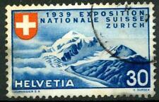 SWITZERLAND - SVIZZERA - 1939 - Esposizione naz. a Zurigo - 30 c. (in francese)