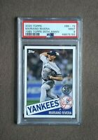 2020 Topps 35th Anniversary Mariano Rivera '85 Card #85~72 PSA Graded 9 Mint