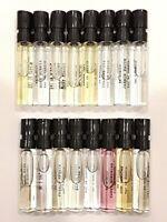 Ex Nihilo Perfume Men & Women 2 ml / 0.06 oz Spray Mini Travel Size
