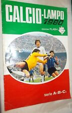 Album Calciatori Calcio LAMPO 1979-1980 edizioni Flash con 9 figurine
