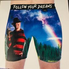 """A Nightmare on Elm Street Freddy Krueger Mens Small Size 28""""- 30"""" Boxer Brief."""