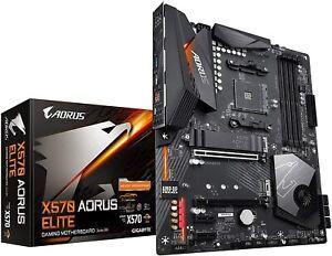Gigabyte X570 AORUS Elite (AMD Ryzen 3000/X570/ATX/PCIe4.0/DDR4/USB3.1/Realtek A
