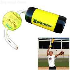 The Ultimate Xelerator Fastpitch Softball Pitching Training Aid And Warm Up Tool