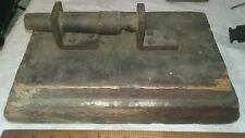 Civil War Period Plank Cannon