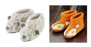 Piccalilly Slippers Kinder Hausschuhe, Schaf, Fuchs