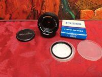 Minolta Rokkor-X 50mm 1:1.4 f/1.4 Manual Focus MD-Mount Prime Lens #3