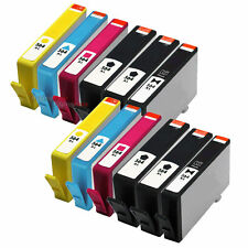 12-Pack 564XL Black &564XL Color Ink Cartridges for HP Series (New Chip)