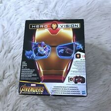 New Iron Man Hero Vision Avengers Infinity Wars AR Augmented Reality Experience