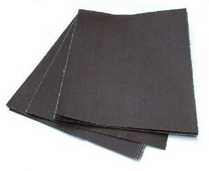 10 PACK - Emery Sanding Cloth Sheets - Fine / Medium / Coarse - 230MM X 280MM