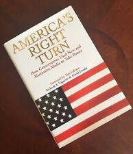 America's Right Turn by Richard Vigueri HC/DJ (SIGNED)