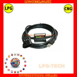 TOMASETTO  Diagnostic Programming Cable Interface USB LPG AUTOGAS
