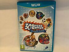 30 GREAT GAMES FAMILY  PARTY OBSTACLE ARCADE NINTENDO   WII U