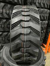 4 NEW 10-16.5 POWER KING RIM GUARD HD+ Skid Steer Tires For Bobcat, CAT & more