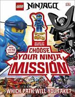 LEGO NINJAGO Choose Your Ninja Mission: With NINJAGO Jay minifigure by Hugo, Sim