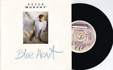 Peter Murphy ORIG UK PS 45 Blue alert NM '86 BEG162 Bauhaus Goth Rock