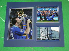 Christian Fuchs Signed Leicester City FC 2015/16 Premier League Champions Mount