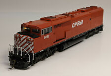 HO Overland Brass SD40-2F Wide Cab - Painted/Weathered - CP Rail #9012 [C11412]