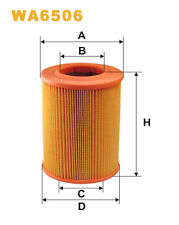 WIX WA6506 Car Air Filter Round Replaces C13801 CA4979 AG268