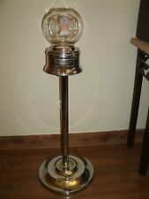 Original Vintage FORD Gumball Machine Chrome with Key