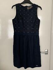 Large//14 colore Camicia Superdry croyde Twist Cavo Crew maglione a girocollo da donna Taglia Denim