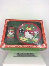 Hello Kitty Christmas Santa's Cookies or Dishes Set Melamine Keroppi My Melody +