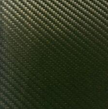 Cuir Synthétique Carbon Look Sage Vert Metallic au mètre difficile inflammable & Extensible