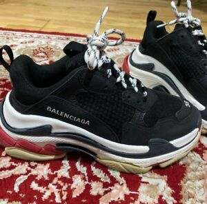 Lightly Used Balenciaga Triple S Shoes Size 38 U.K. 5.5 Womens