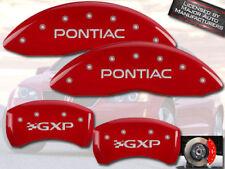 2004 2005 Pontiac Gxp Bonneville Front Rear Black Mgp Brake Disc Caliper Cover
