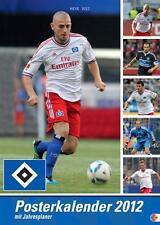 HSV HAMBURG POSTERKALENDER 2012 NEU OVP HEYE