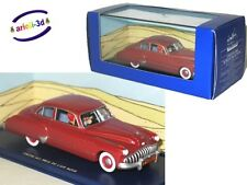 TINTIN CAR COLLECTION RED BUICK L'AMÉRICAINE ROUGE LAND OF BLACK GOLD NEW ATLAS