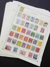 EDW1949SELL : AUSTRALIA & STATES Very nice Starter collection on pages Cat $2310