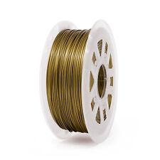 Bronze 3D Printer Filament 1kg/2.2lb 1.75mm PLA MakerBot RepRap