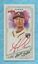 OZZIE ALBIES 2018 Topps Allen and Ginter Mini Autographs Red Ink RC 05/10
