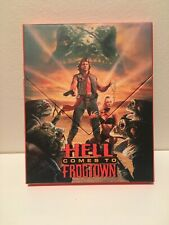 Vinegar Syndrome Blu-ray/DVD Hell Comes To Frogtown w/ Limited OOP Splitcover