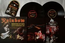 Rainbow Monsters Of Rock- live At Donington 1980 Vinyl 2 LP CD