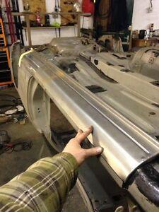 Nissan 200sx s14 Ersatz Türleiste Drift Widerstand Track Außen Schweller Panel