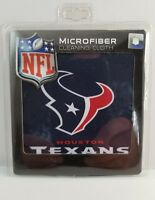 Houston Texans microfiber sunglasses cleaning cloth