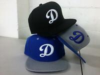 Los Angeles Dodgers Snap Back Cap Alternate Hat Embroidered LA Adjustable Men