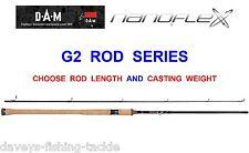 DAM NANOFLEX G2 SPIN ROD SEA GAME COARSE FISHING SPINNING PIKE BASS TROUT SALMON