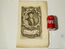 18thC Engraving Fischer Adriaen van der Werff G. Valck Sculps #A40*