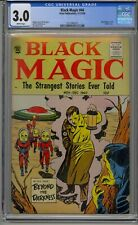 BLACK MAGIC #44 CGC 3.0 HITLER COVER WHITE PAGES